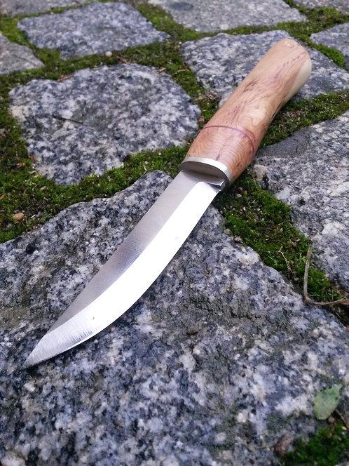 Outdoormesser, finnische Klinge 95mm, rostfrei