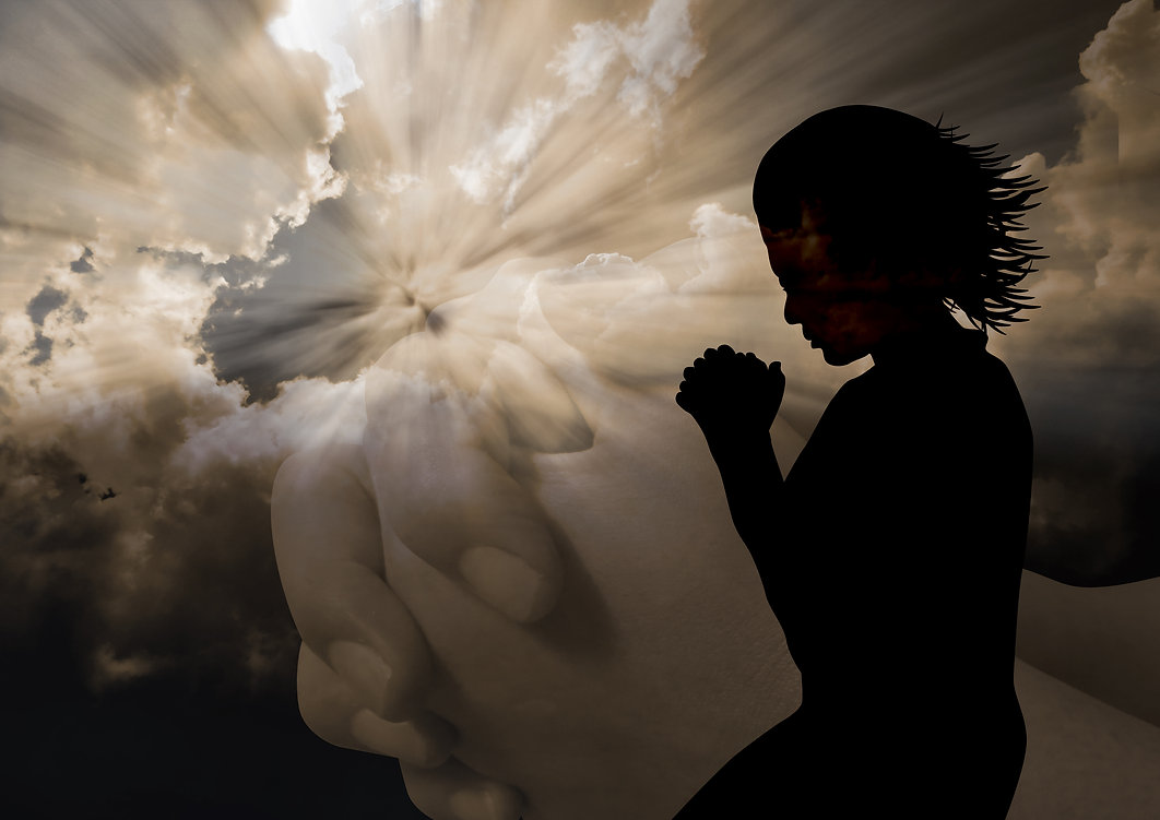 A silhouette of a woman to God.jpg