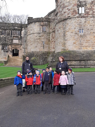 So far this term and our Skipton Castle Trip
