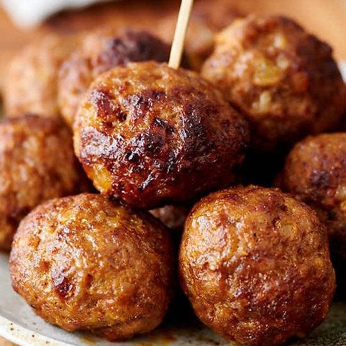Fried Pork Meatballs