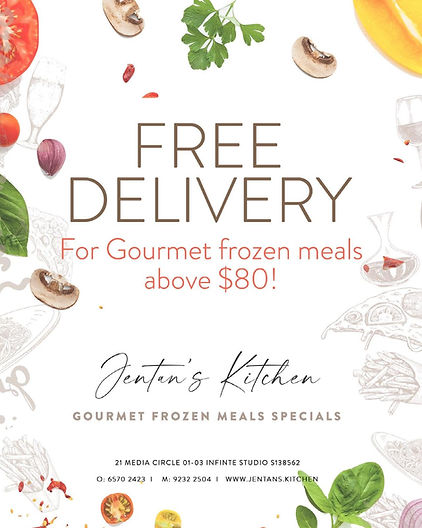 Posters for Free delivery frozen meals.JPG