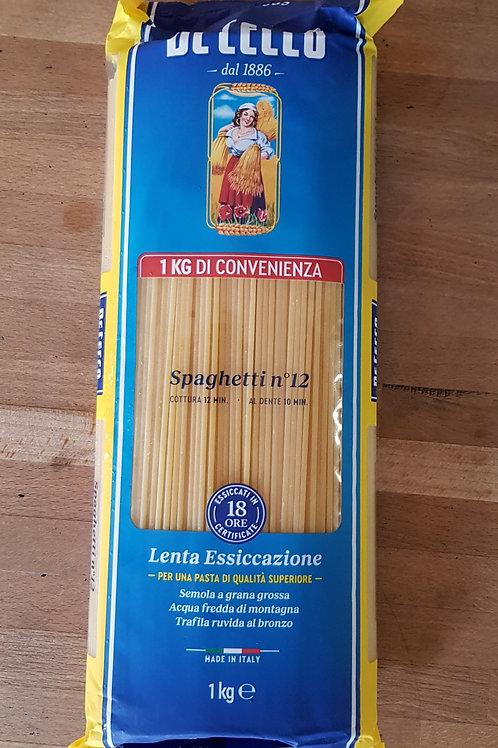 De cecco Spaghetti number 12 (1kg)