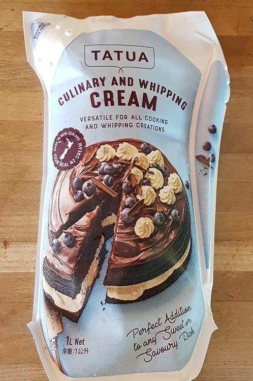 Whipping Cream (1 litre)