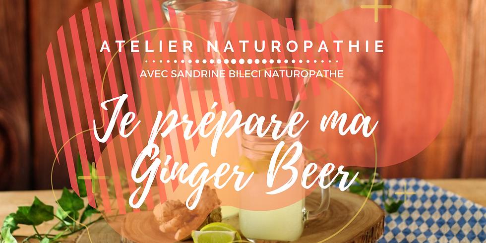 Atelier DIY: Ginger Beer et sodas naturels