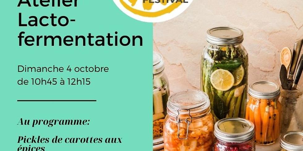 Atelier Bases de lacto-fermentation / The Greener Good Festival