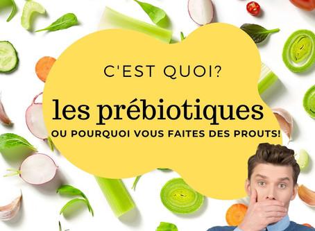 C'est quoi les prébiotiques?