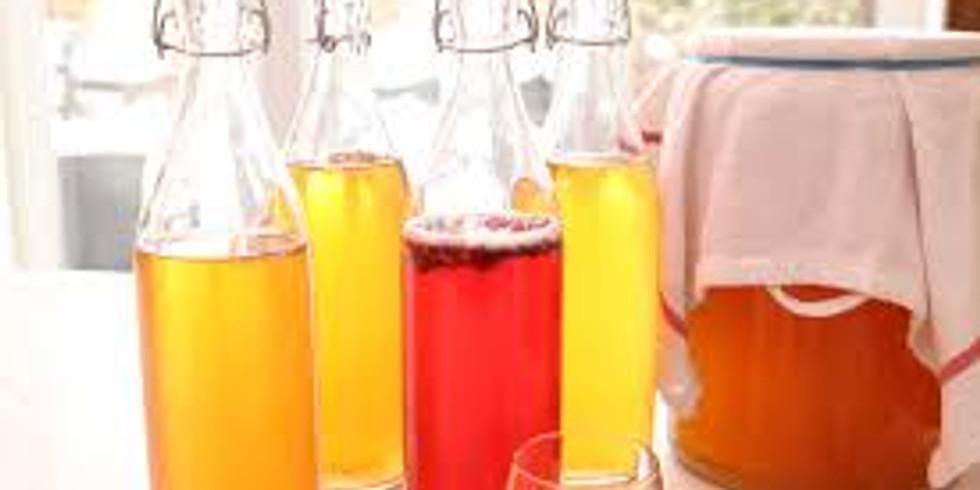 Atelier Kombucha et sodas naturels