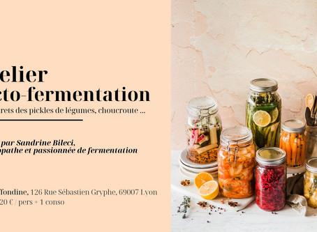 Atelier les bases de la fermentation