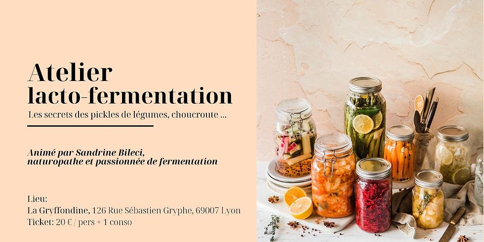 Atelier Les bases de la lacto-fermentation