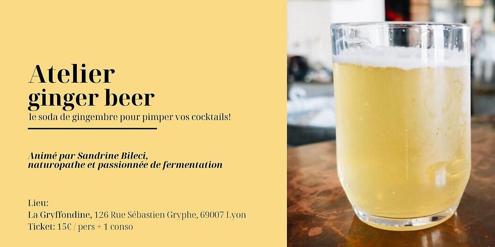 Atelier Ginger Beer et sodas naturels