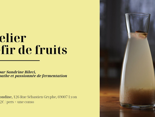 Atelier Kefir de fruit
