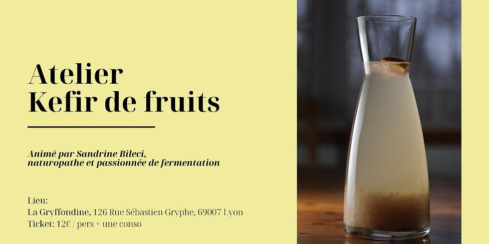 Atelier Kefir de Fruits et Sodas Naturels