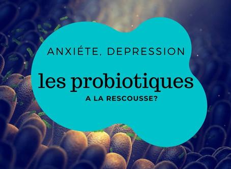 Stress, anxiété, dépression et... probiotiques?