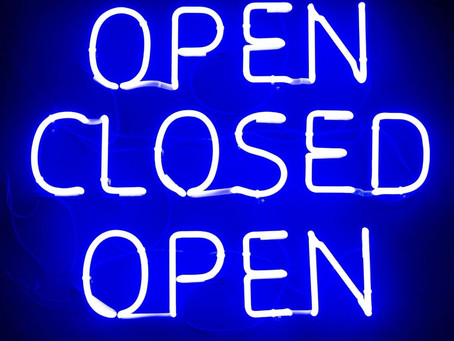 Reconfinement: le cabinet de naturopathie n'est pas fermé, mais pas ouvert non plus!
