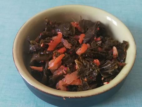 Kimchi de chou kale