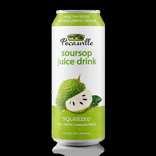 Squeezed Soursop Juice