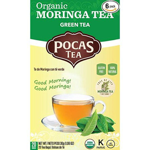 Organic Moringa Green Tea