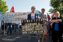 Cinecittà: hands over the city.