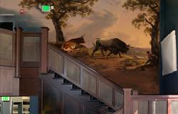 Bull mural Birdstudio