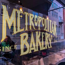 Metropolitan Bakery Signage