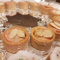 Foie Gras and Toasted Almond Cups