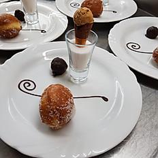Dulce de Leche Dessert Trio