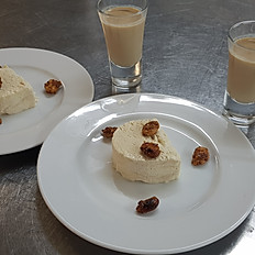 KWV Africa Cream Liqueur Parfait, Caramelised Nuts