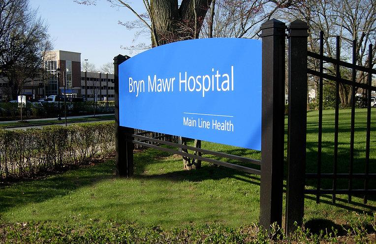 Bryn Mawr Exterior Wayfinding Program