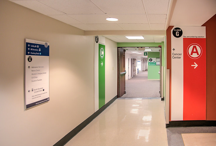 St. Lukes University Health Network - Interior Wayfinding Program