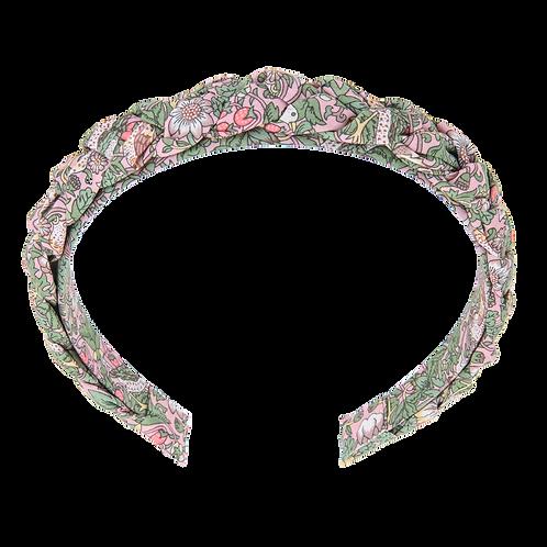 Bon Dep Hairband braided Liberty fabric