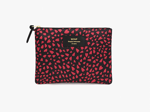 Wouf Pouch Large Hearts