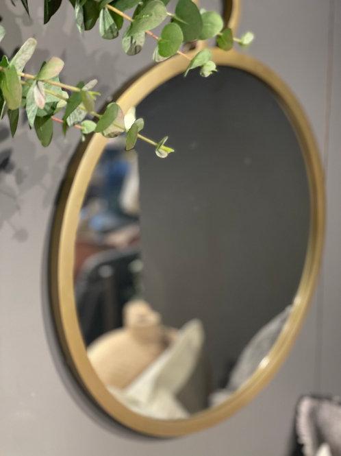 Halvor Bakke Speil Messing