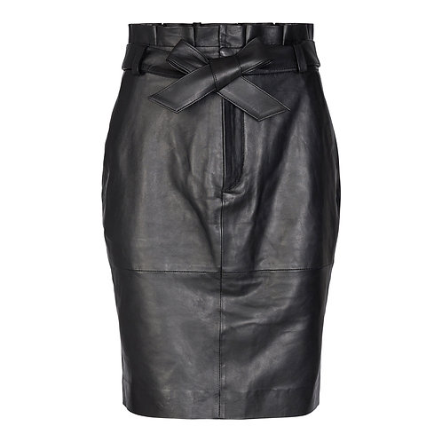 Co´Couture skjørt Phoebe Leather