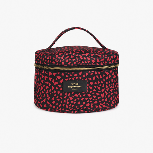 Wouf Makeup bag XL Hearts