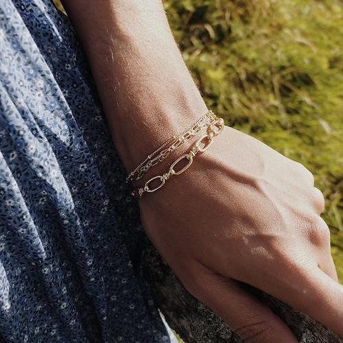Orelia London Armbånd Oval Linked Chain