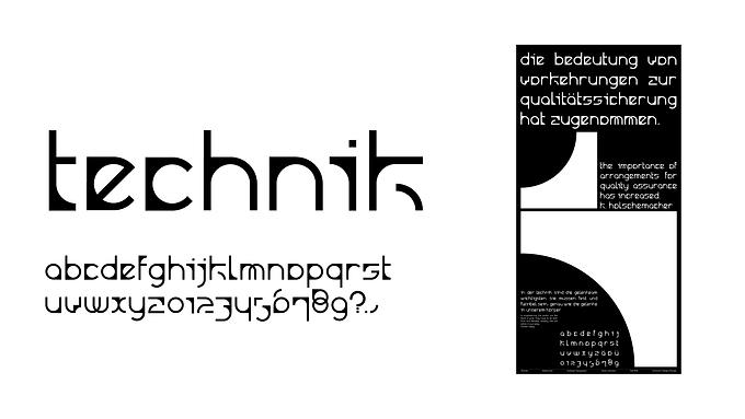 Typeface Design: Technik