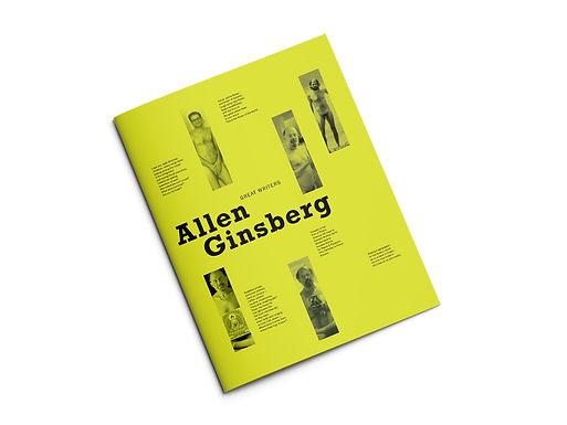 Booklet Design: Great Writers Series: Allen Ginsberg