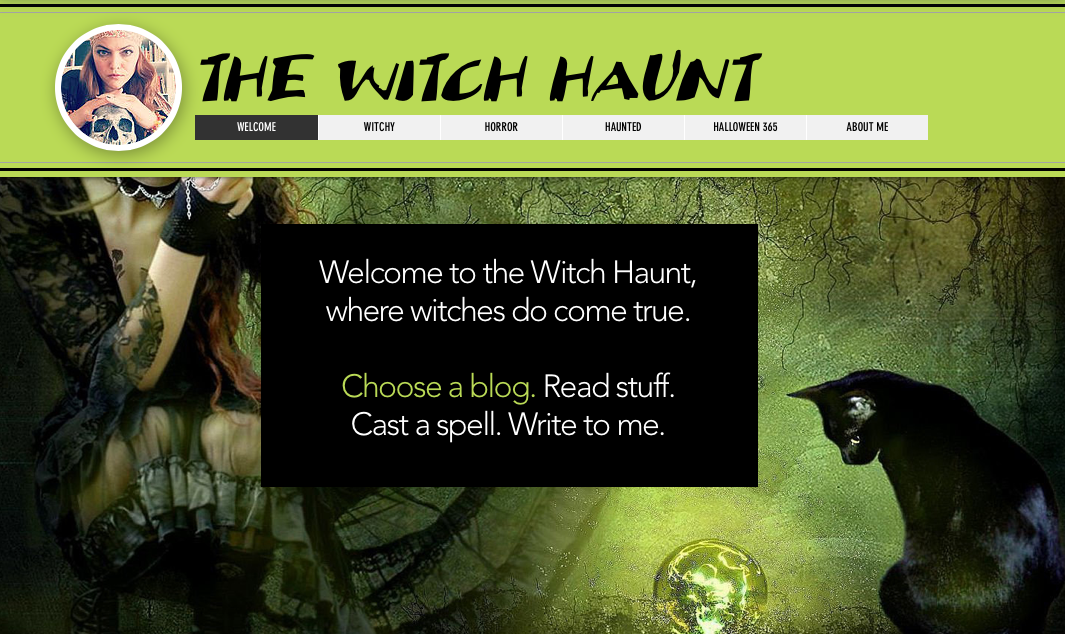 Horror Authors | The Witch Haunt