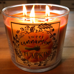 A Pumpkin Candle in July