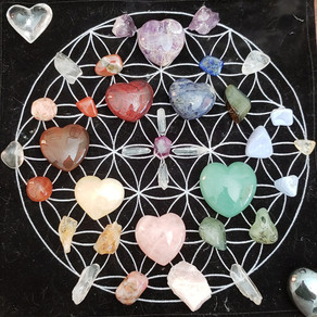 Crystals and the Lower Chakra System by Reiki Master JUDY CAMBLOR
