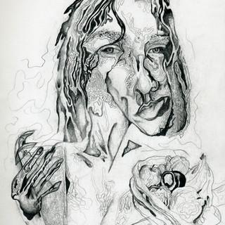 Graphite Study for Portrait