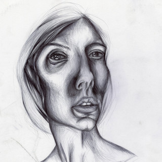 Ballpoint Study for Portrait