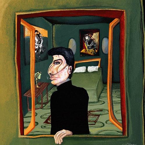 sydney in his bedroom (1 of 2)