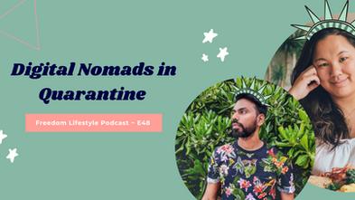 Digital Nomads in Quarantine