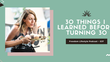 30 Things I Learned Before 30