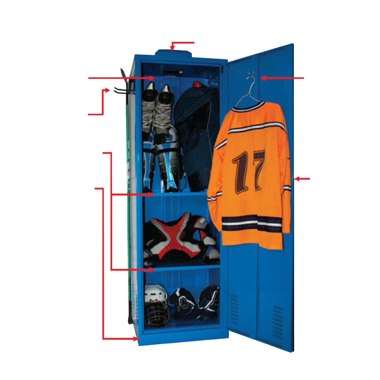 Locker Features