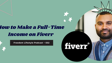 How to Make a Full-Time Income on Fiverr