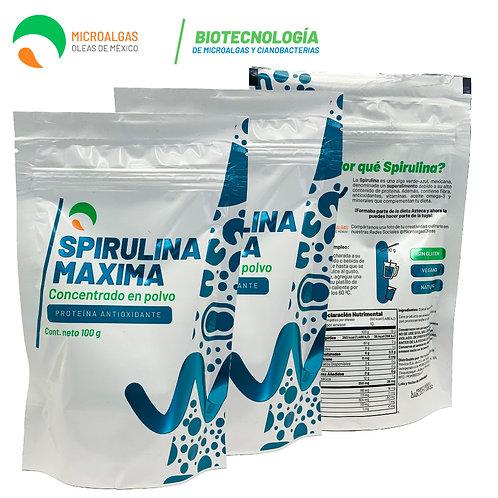 Spirulina en Polvo 100g Paquete de 3 Bolsas
