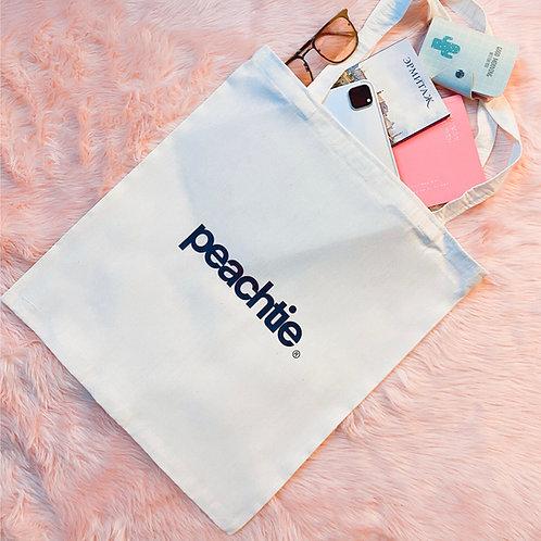 Peachtie Basic ToteBag [100% Eco Friendly]