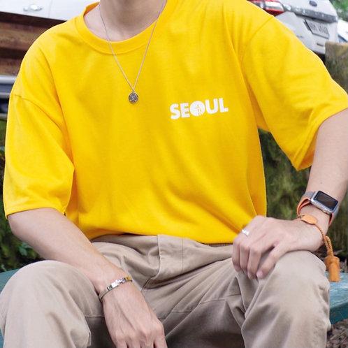 SEOUL X BUSAN  Korean shirt [YLW/GRN]
